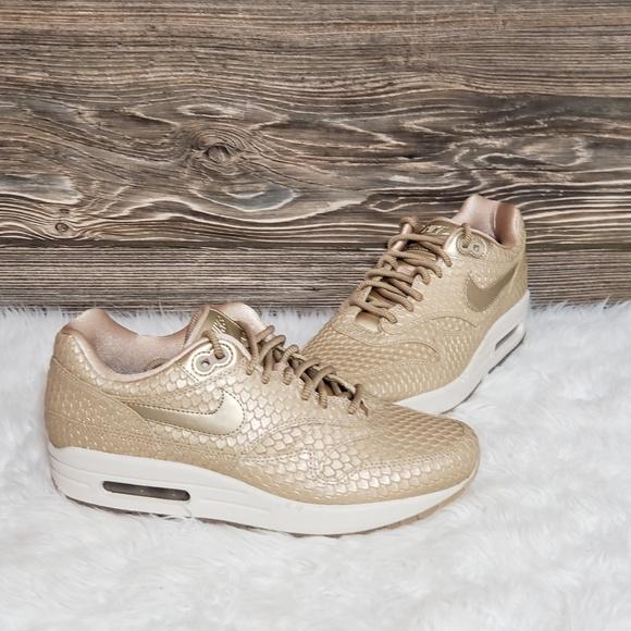 Nike Shoes New Air Max 1 Premium Sneakers Poshmark